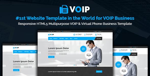 Voip responsive html5 multipurpose voip virtual phone business voip responsive html5 multipurpose voip virtual phone business template technology friedricerecipe Choice Image